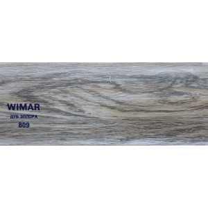 Плинтус ПВХ Wimar 86 мм 809 Дуб Эллора