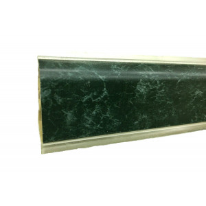 Плинтус для столешниц Korner LB-37 Мрамор зелёный