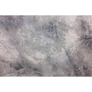 Стеновая панель для кухни Кедр 734/1 Мрамор Марквина синий