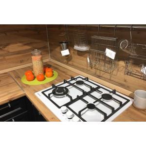 Стеновая панель для кухни Кедр 7052/FL Дуб Вотан