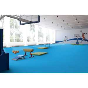 Линолеум спортивный Tarkett Omnisports R83 Excel Sky Blue