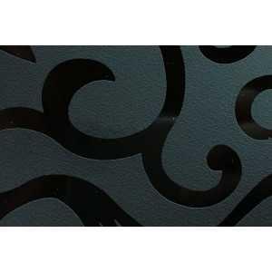 Столешница 0010 Flower Цветы черные