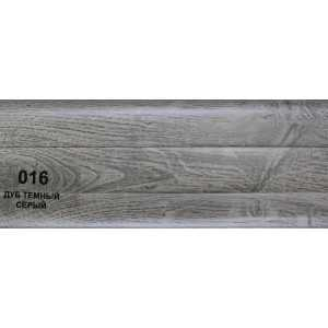 Плинтус ПВХ Т-Пласт 86 мм 016 Дуб тёмно-серый